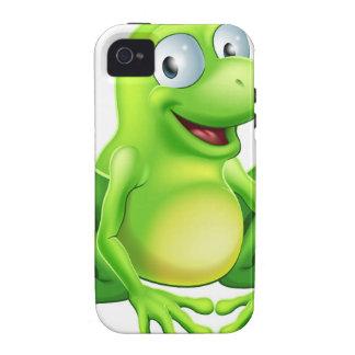 Mascota de la rana Case-Mate iPhone 4 carcasas