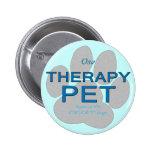 Mascota de la terapia pin