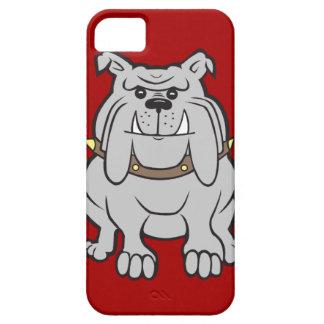Mascota de los dogos en los regalos rojos del aman iPhone 5 Case-Mate coberturas