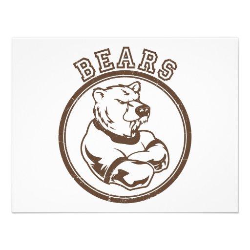 Mascota de los osos comunicados personales