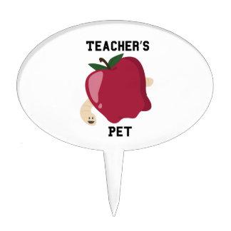 Mascota de los profesores decoraciones para tartas