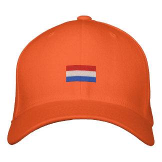 ¡Mascota de Nederlandse Vlag - Hup Holanda Hup! Gorra Bordada