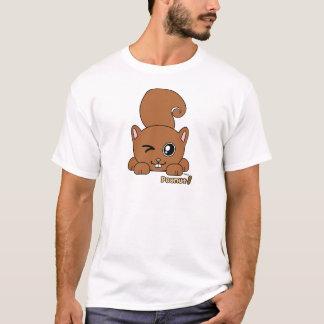 Mascota de Pudgie del cacahuete Playera