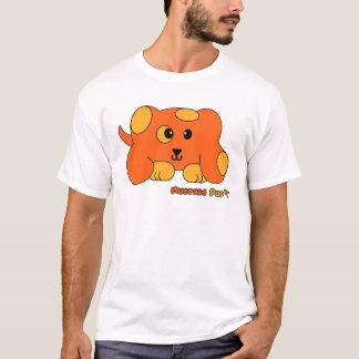 Mascota de Pudgie del perrito de la mostaza Playera