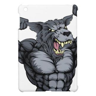 Mascota del animal del lobo