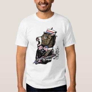 Mascota del burro de Rockin del fiesta de Poleras