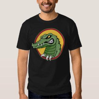 Mascota del cocodrilo remera