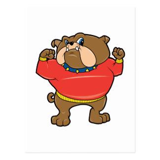 Mascota del dogo tarjeta postal