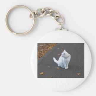 Mascota del gato llaveros