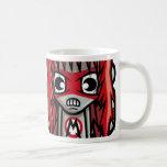 Mascota del metal tazas de café