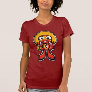 Mascota del temerario camiseta