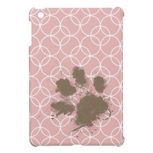 Mascota divertido; Círculos de color de malva iPad Mini Cárcasa