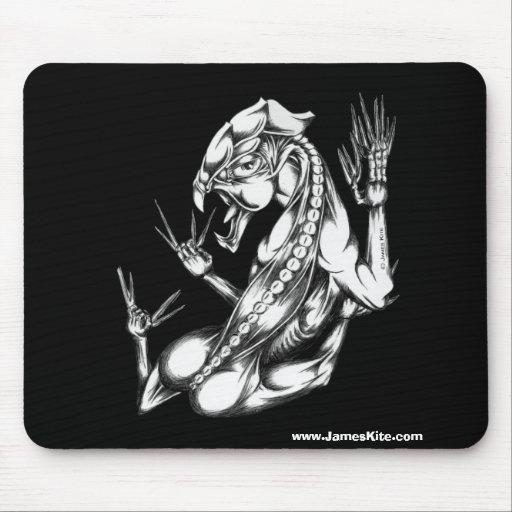 Mascota Dragonette Mousepads