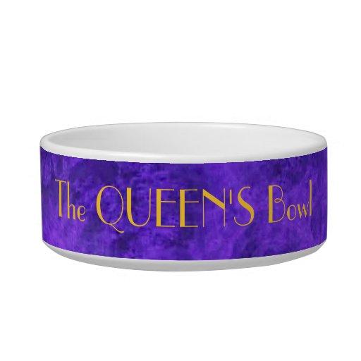 Mascota ETC. Bowl de la púrpura real Tazón Para Comida Gato
