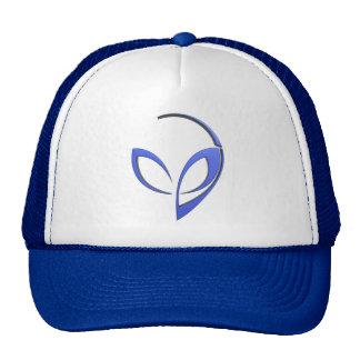 Mascota extranjera en azul gorra