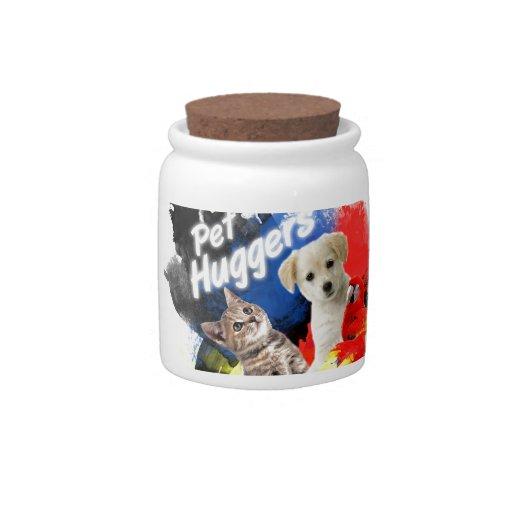 Mascota Huggers Tarro De Cerámica Para Dulces