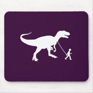 Mascota lindo de T-rex Tapete De Raton