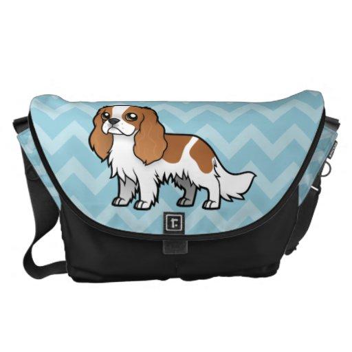 Mascota lindo del dibujo animado bolsa de mensajeria