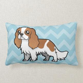 Mascota lindo del dibujo animado cojin