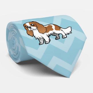 Mascota lindo del dibujo animado corbatas personalizadas