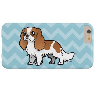 Mascota lindo del dibujo animado funda de iPhone 6 plus barely there