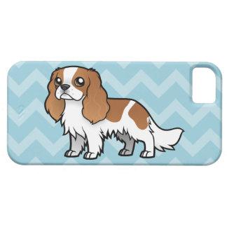 Mascota lindo del dibujo animado iPhone 5 carcasas