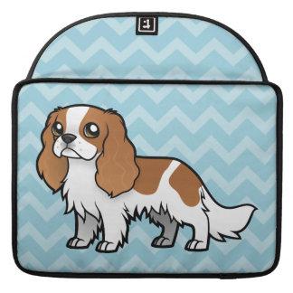 Mascota lindo del dibujo animado funda para macbook pro