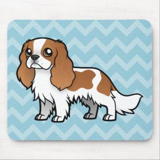 Mascota lindo del dibujo animado alfombrillas de ratón