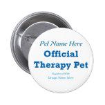 Mascota oficial de la terapia pin