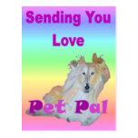 Mascota PAL Tarjetas Postales