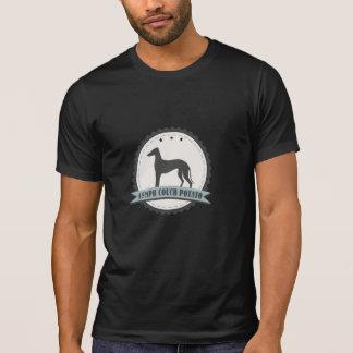 Mascota perezoso jubilado galgo del perro 45mph de playera