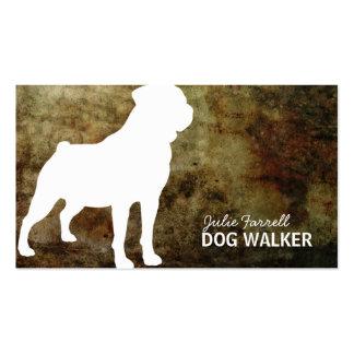 Mascota Realated de Rottweiler Tarjetas De Visita