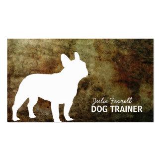 Mascota Realated del dogo francés Tarjetas De Visita