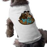 Mascota T del logotipo del arco de Joa Playera Sin Mangas Para Perro