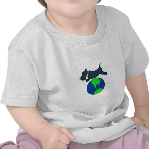 Mascota verde Meds Camisetas