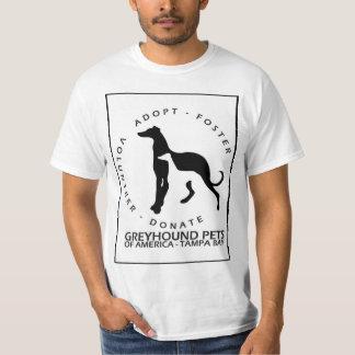Mascotas de Grayhound de st Pete de América Playeras