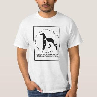Mascotas de Grayhound Polera