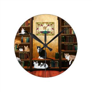 Mascotas de los profesores relojes de pared