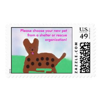 Mascotas del sello de los refugios
