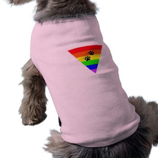 Mascotas en igualdad ropa perro
