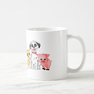 Mascotas lindos taza clásica