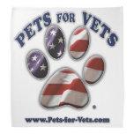 Mascotas para el pañuelo de los veterinarios bandanas