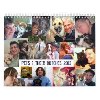 Mascotas y sus marimachos, 2013 calendario