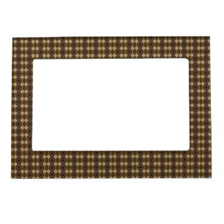 Masculine Brown Geometric Photo Frame