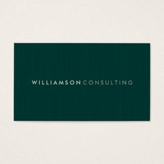MASCULINE BUSINESS CARD :: simple pinstripe 2
