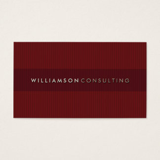MASCULINE BUSINESS CARD :: simple pinstripe 3D 7