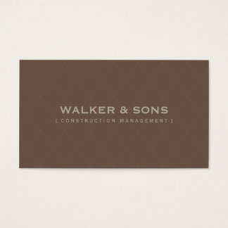 MASCULINE BUSINESS CARD :: simply smart 7