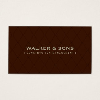 MASCULINE BUSINESS CARD :: simply smart 8