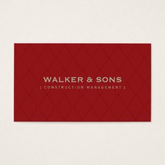 MASCULINE BUSINESS CARD :: simply smart 9