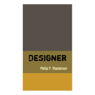 Masculine Designer Architecture Designs Double-Sided Standard Business Cards (Pack Of 100)